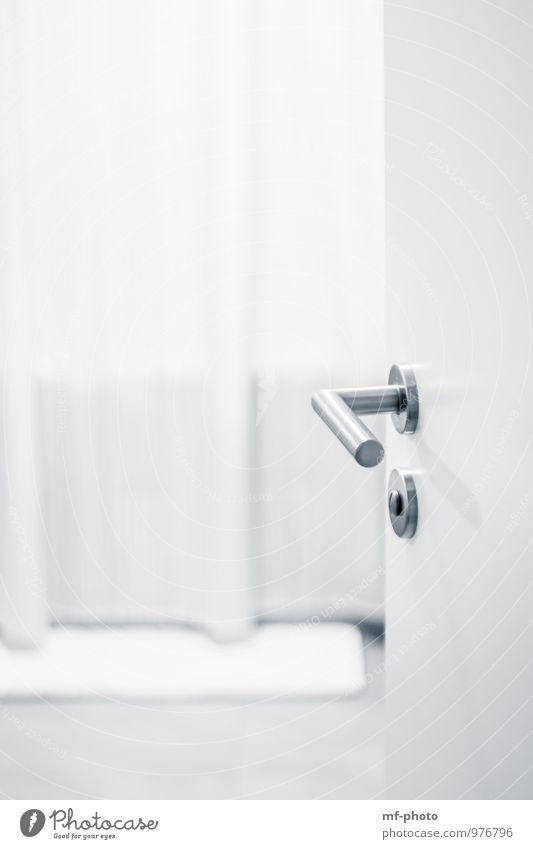 bathroom Wellness Relaxation Swimming & Bathing Flat (apartment) Bathtub Bathroom Car door Entrance Take a shower Black & white photo Interior shot Detail