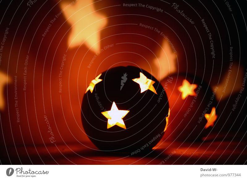 Moon and stars Art Exhibition Work of art Fire Night sky Stars Globe Desire Lighting Illuminate Christmas & Advent Christmas star Fortune-telling Rocket flare