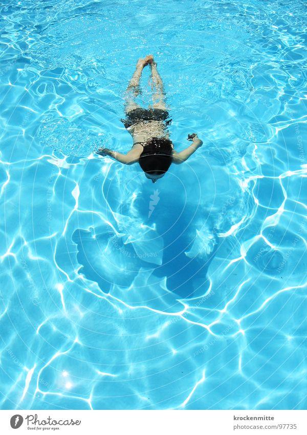 Woman Water Blue Summer Vacation & Travel Wet Swimming pool Leisure and hobbies Italy Swimming & Bathing Hotel Bikini Refreshment Aquatics Refrigeration