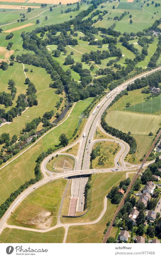 cello Landscape Meadow Forest Flying Street Tunnel Tunnel entrance Outskirts House (Residential Structure) River Green Green space Aerial photograph Airplane