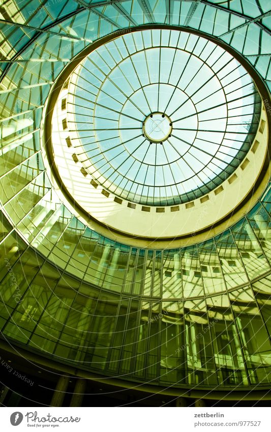Schirn Art Gallery Frankfurt Town House (Residential Structure) Main Perspective Steep Worm's-eye view Domed roof Light harness Painter Art gallery Atelier