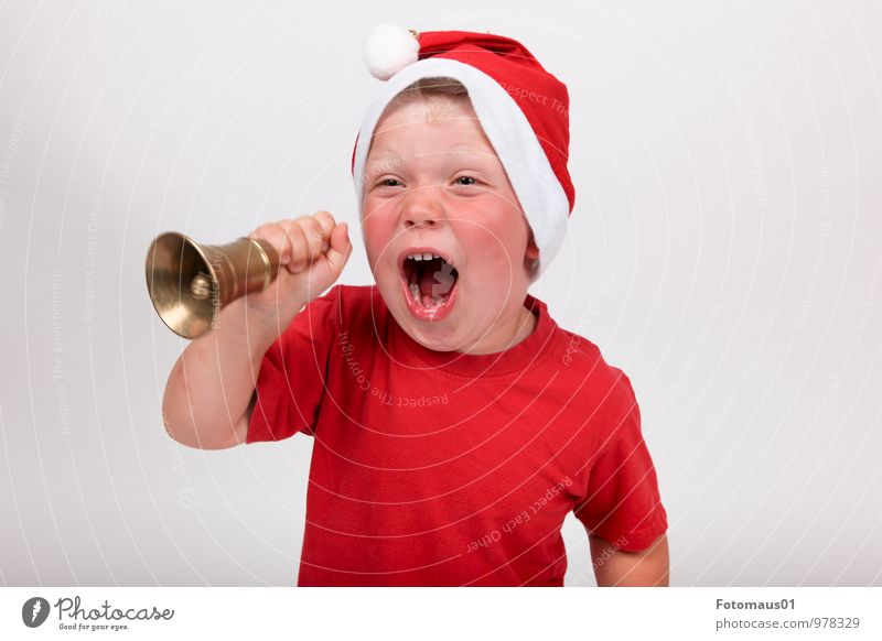 It´s Christmas-Time I Joy Feasts & Celebrations Christmas & Advent Human being Child Boy (child) 1 3 - 8 years Infancy Laughter Scream Cool (slang) Brash Trashy