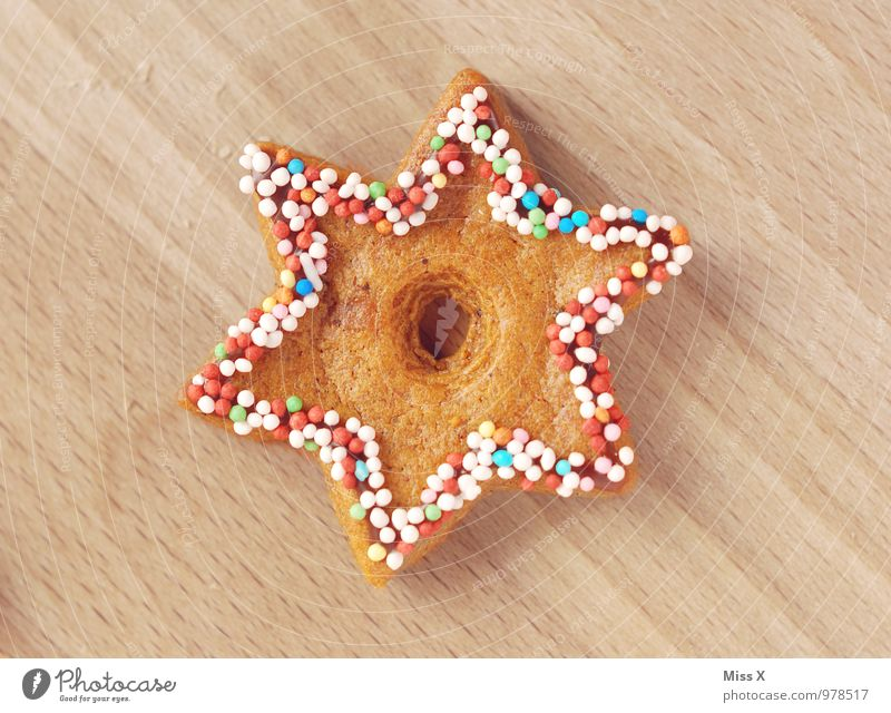 star Food Dough Baked goods Candy Nutrition Decoration Delicious Sweet Cookie Sugar perl Icing Coulored sugar candy Granules Star (Symbol) Christmas biscuit