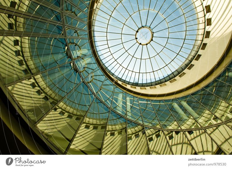 Schirn Art Gallery Frankfurt Town House (Residential Structure) Main Perspective Steep City life Worm's-eye view Domed roof Light harness Painter Art gallery