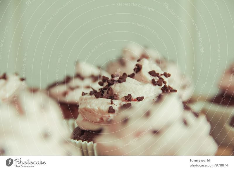 That one! Food Dairy Products Dough Baked goods Candy Muffin Cupcake Chocolate crumble Fragrance Delicious Sweet Cream Tartlet Colour photo Interior shot Detail