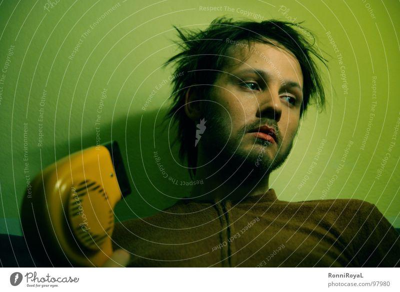 Cooler Hairdryer No.1 Boredom Dream Insecure Morbid Fatigue Surrealism Interior shot