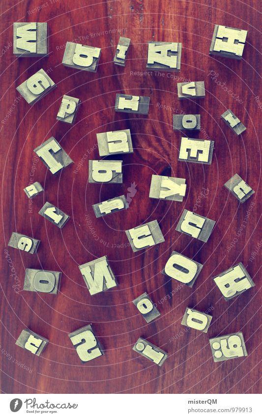 wbrAH! Art Esthetic Letters (alphabet) Many Muddled Untidy Design Designer Designer furniture Design studio Design museum Idea Typography Fashioned Decoration