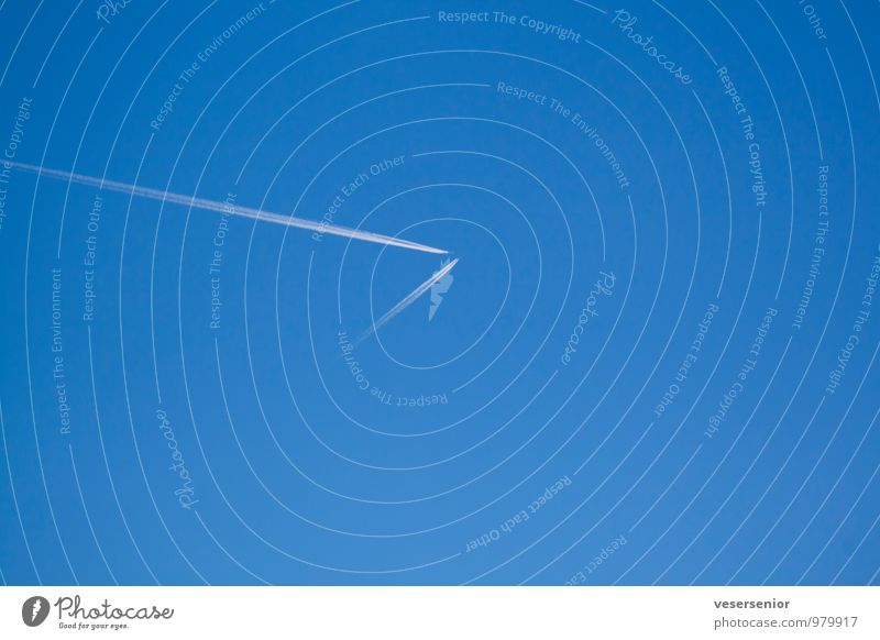 Sky Blue Calm Death Flying Air Fear Aviation Dangerous Threat Airplane Safety Fear of death Serene Trust Cloudless sky