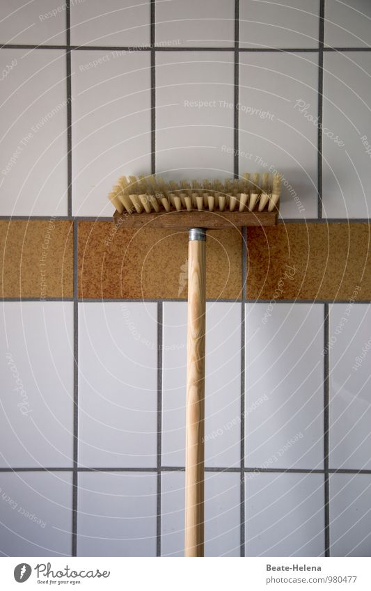 White Wall (building) Wood Wall (barrier) Brown Work and employment Flat (apartment) Power Clean Cleaning Break Stress Tile Hang Sharp-edged Willpower