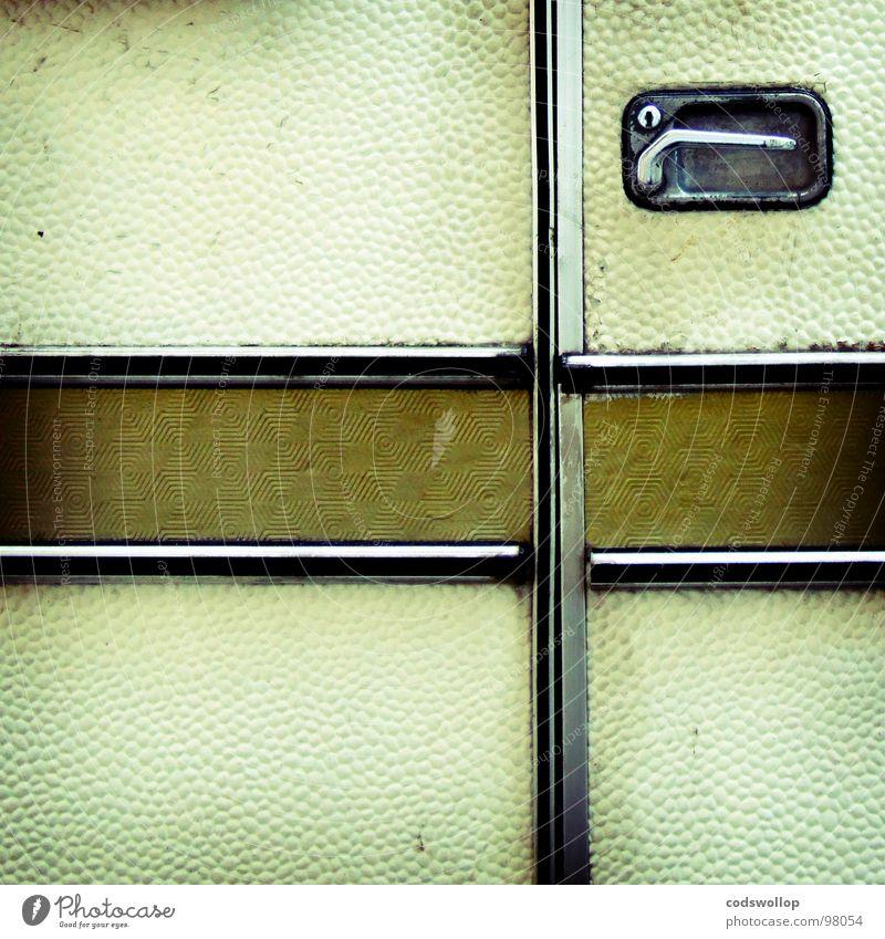 Camping Door handle Section of image Caravan Mobile home