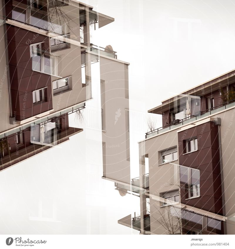 House (Residential Structure) Architecture Building Exceptional Facade Living or residing Design Modern Perspective Crazy Future Uniqueness New Manmade structures Hip & trendy Surrealism