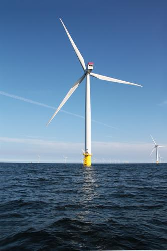 Nature Blue Water Energy industry Air Modern Wind Climate Tall Technology Future Beautiful weather Clean Tower Baltic Sea