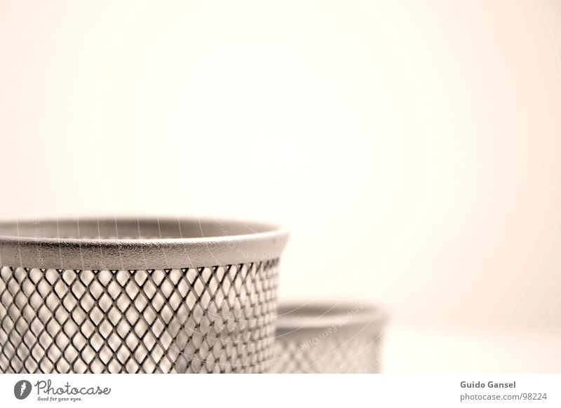Metal Mug Aluminium Wastepaper basket