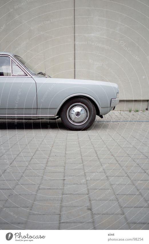 Calm Colour Street Car Leisure and hobbies Concrete Transport Stand Driving Logistics Vintage car