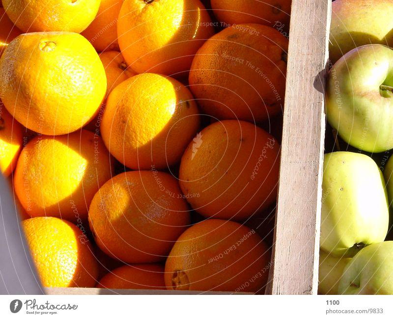 Oranges / Apples Nutrition Shadow