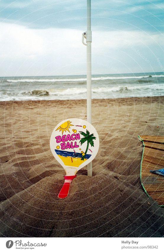 Ocean Summer Joy Beach Clouds Sports Playing Sand Coast Ball Leisure and hobbies Hill Broken Palm tree Surf Ball sports