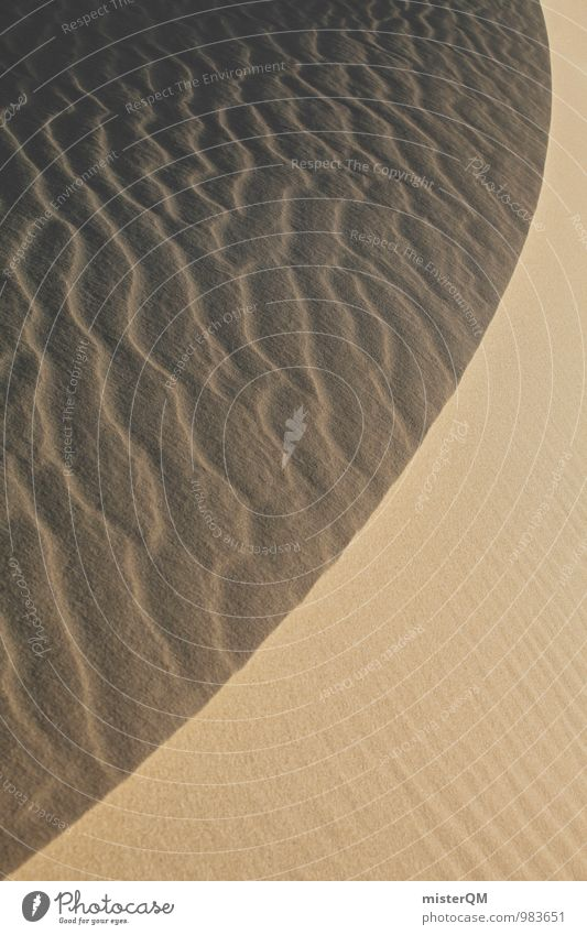 symmetry of nature. Art Environment Nature Landscape Elements Sand Summer Climate change Warmth Drought Esthetic Contentment Beach dune Structures and shapes
