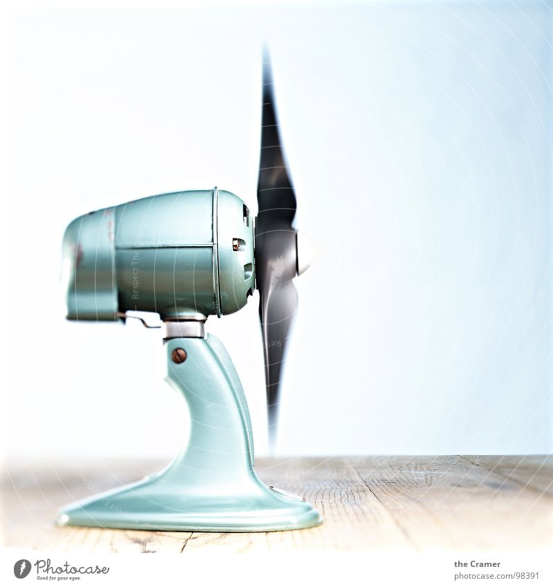 Blue Summer Wood Air Metal Wind energy plant Fresh Technology Dynamics Rotate Household Rotation Rotor Fan Electrical equipment