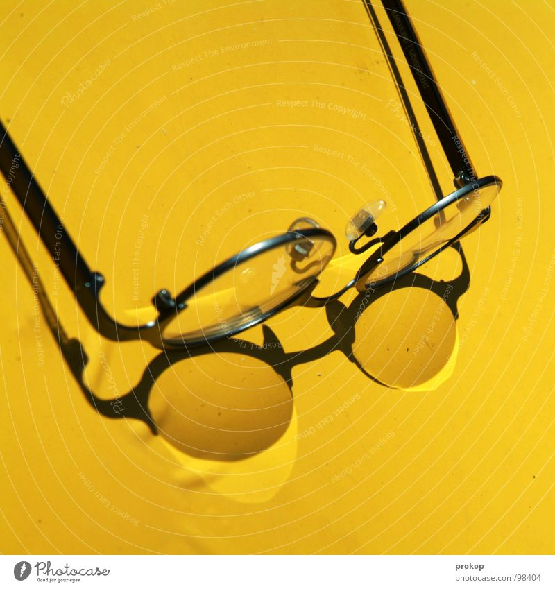 Summer Yellow Warmth Glass Blaze Lie Eyeglasses Physics Hot Dry Concentrate Burn Transparent Lens Blind