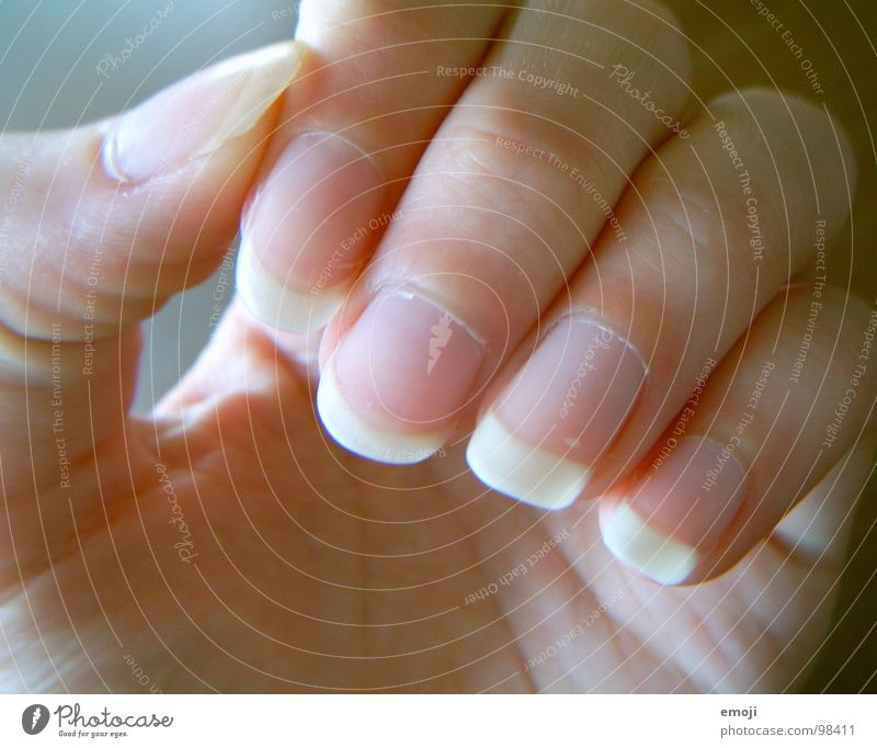 Woman Hand Beautiful Healthy Skin Fingers Catch Take Fingernail Cream Nail Parts of body Skin color Groomed