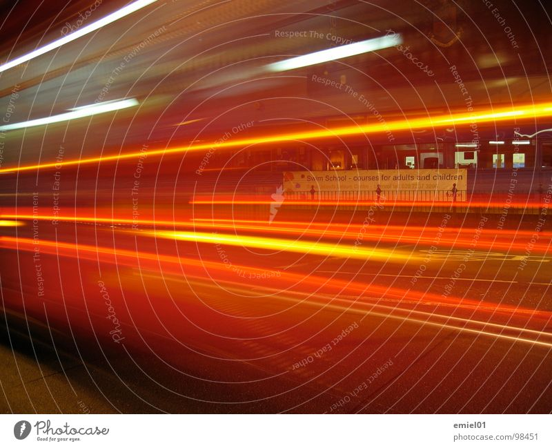 speed Bright Transport Long exposure swift Street kick lights Car traffic