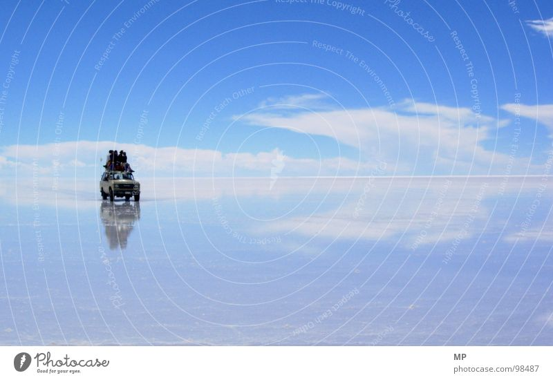 Sky Nature Vacation & Travel Blue Water Relaxation Loneliness Clouds Happy Flying Lake Jump Car Adventure Floor covering Hope