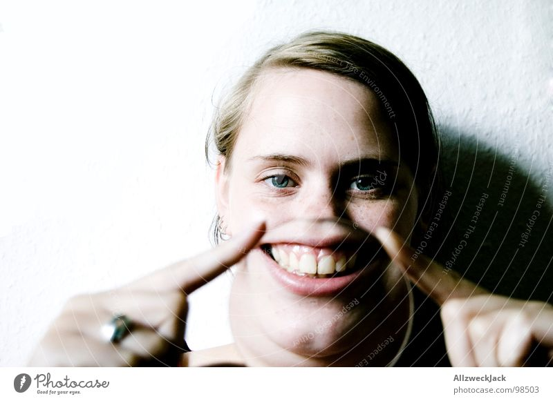 Woman Joy Feminine Happy Laughter Mouth Happiness Teeth Humor Grinning Joke Absurdity Whim Good mood