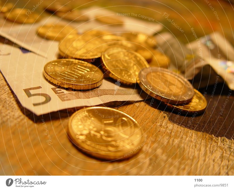Money Euro Coin
