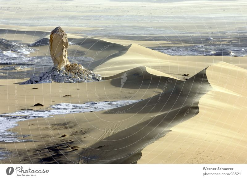 White Desert Egypt White desert Africa Nature Sand Beach dune