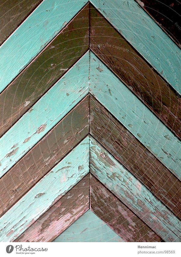 It's up here. Door Wood Arrow Direction Above Roof Detail Structures and shapes Arrangement Mint green Brown Wood grain Old Corner Line Pattern Point Varnish