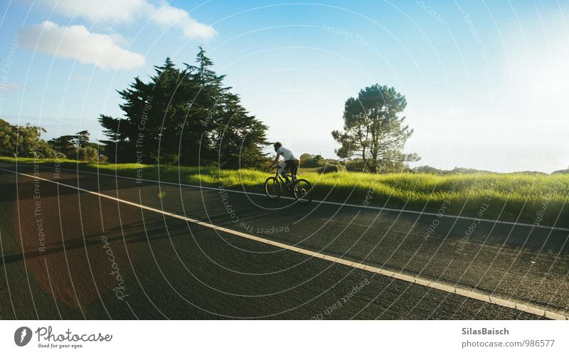 Bike tour 02 Lifestyle Well-being Leisure and hobbies Vacation & Travel Tourism Trip Adventure Sports Sportsperson Cycling Masculine 18 - 30 years