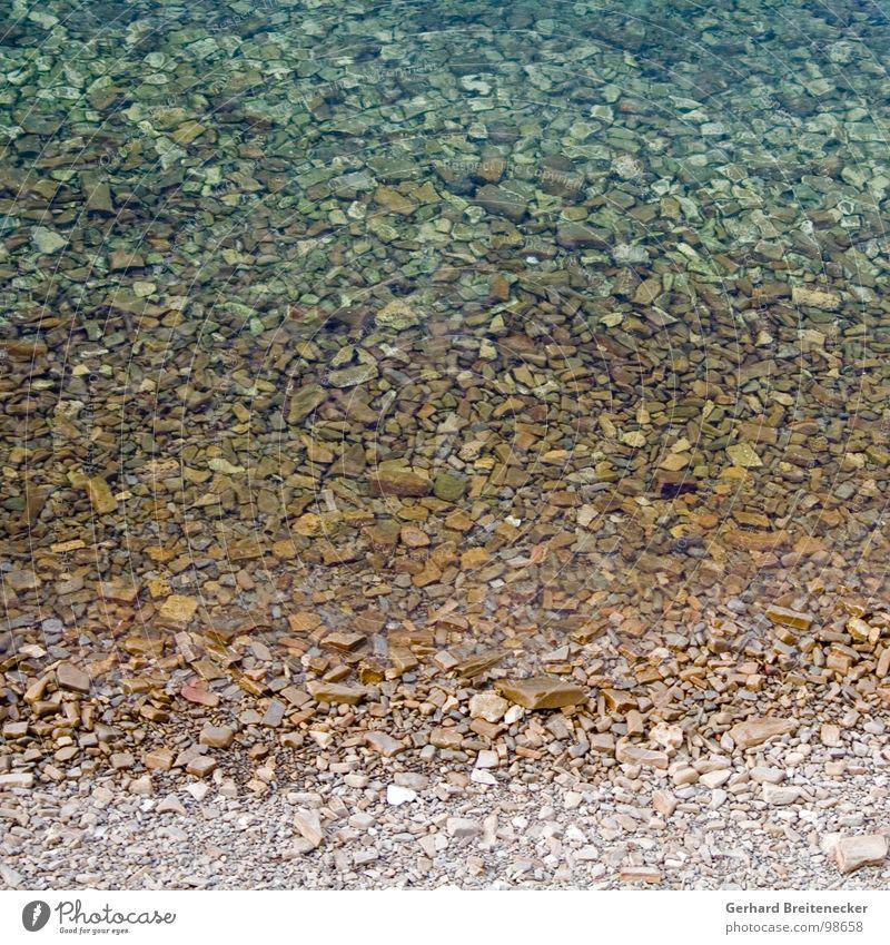 shallow square Beach Ocean Progress Stone Water Clarity Banal Gravel
