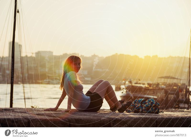 evening light Lifestyle Harmonious Well-being Leisure and hobbies Vacation & Travel Tourism Trip Adventure Far-off places Freedom City trip Cruise Expedition
