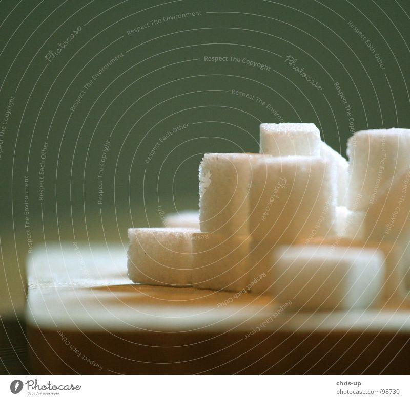 Sugar cubes I Lump sugar Sweet Sugar refinery White Sugarcane Brazil South America Green Brown Unhealthy Sugar beet Sharp-edged Square Crystal structure