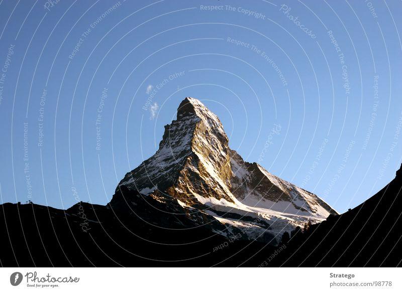 Beautiful Sky Clouds Snow Mountain Stone Hiking Large Rock Tall Might Tourism Switzerland Climbing Alps Peak