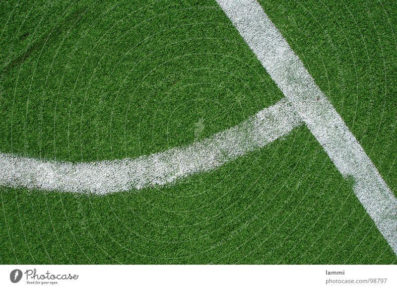 the green corner Green Art Artificial lawn White Powder Plastic Ball sports Lawn Feet Soccer Corner