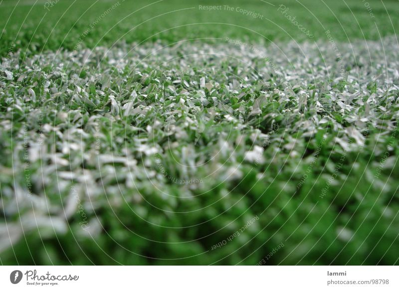 White Green Feet Soccer Art Corner Ball Lawn Plastic Powder Ball sports Artificial lawn