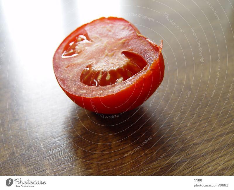Half a tomato Table Healthy Tomato halves