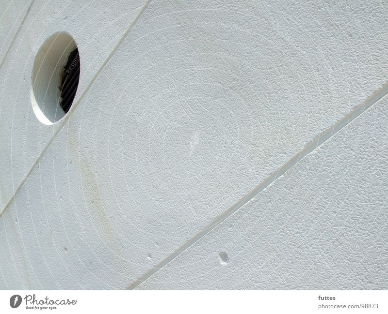porthole Wall (building) White Majorca Vacation & Travel Round Derelict Hollow Crazy