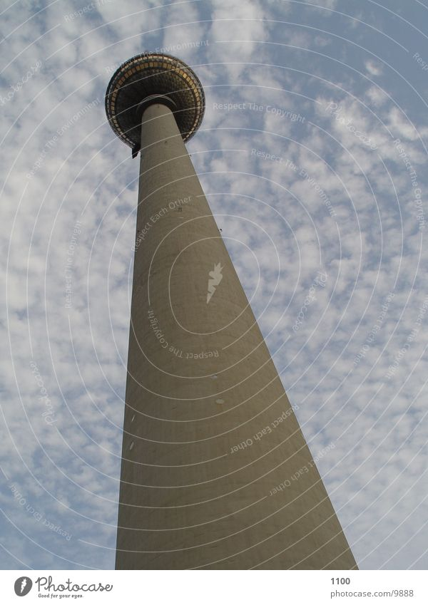 Berlin Architecture Tall Vantage point Tower GDR