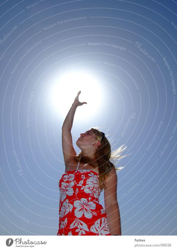 Sky Sun Summer Vacation & Travel Air Majorca Spain Hibiscus