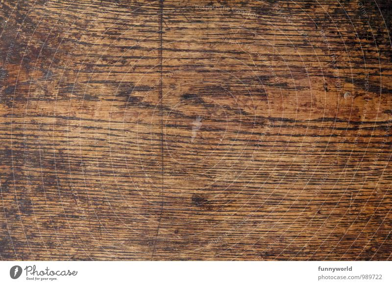 IT'S WOOD! Wood Senior citizen Wood grain Background picture Neutral Background Weathered Scar Contemporary witness Old Brown Colour photo Interior shot