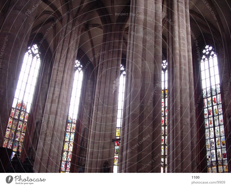 Window Room Religion and faith Holy Column House of worship Church window
