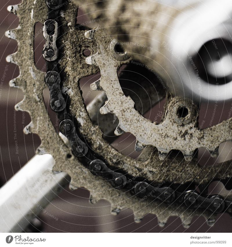 Joy Bicycle Dirty Footpath Frame Chain Fat Oil Inject Mud Gearwheel Territory Funsport Pedal Oily