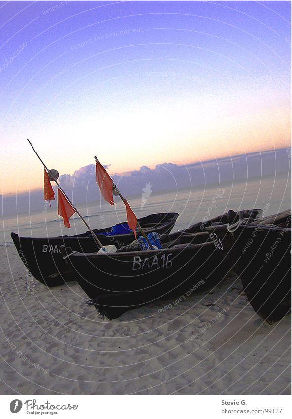 sensitive Sunset Ocean Watercraft Beach Calm Coast Sand Beautiful
