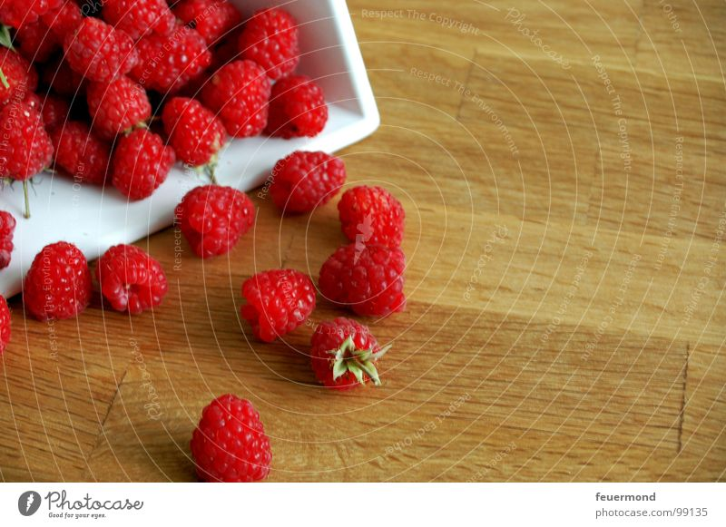 Red Summer Nutrition Garden Healthy Fruit Sweet Harvest Collection Berries Vitamin Fruity Raspberry