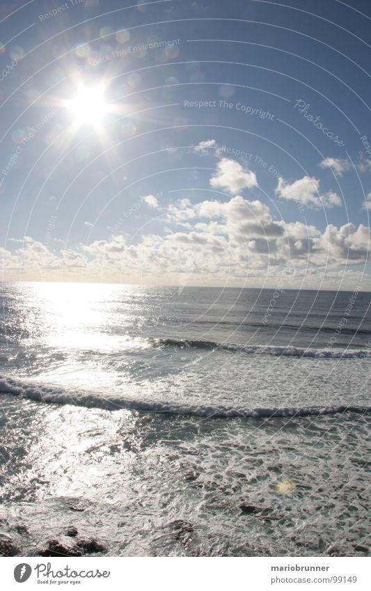 Water Sun Ocean Summer Beach Vacation & Travel Waves Surf Foam Fuerteventura Celestial bodies and the universe Canaries