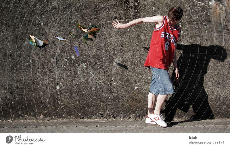 Anger Aggravation Basketball Concrete wall