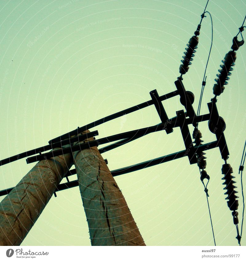 Energy industry Electricity Technology Cable Connection Electricity pylon Overhead line Electrical equipment