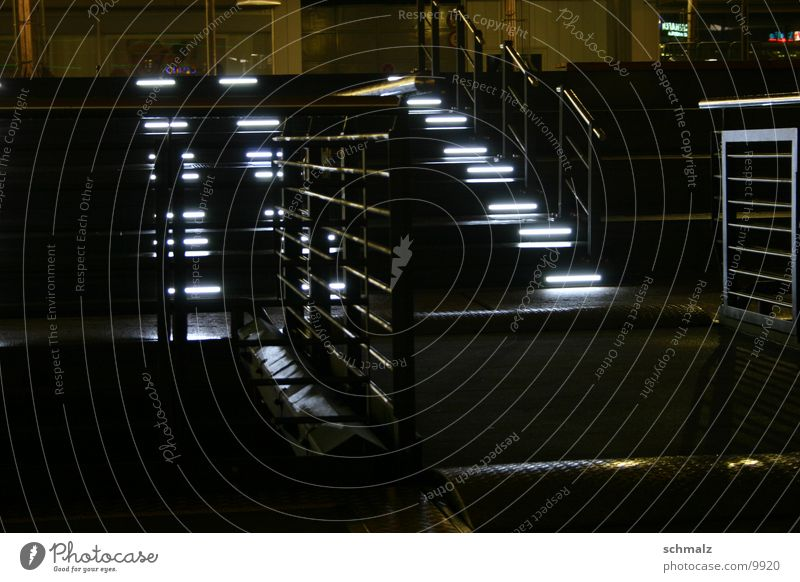 Steps & Metal 1 Lighting White Handrail Kiel Stairs